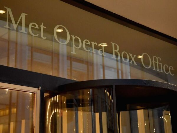 A view of the Metropolitan Opera ticketing office in 2018.
