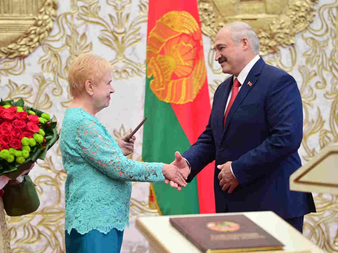 Belarus leader Lukashenko sworn in at secret ceremony: agency