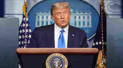 Trump Accuses FDA Of Playing Politics With COVID-19 Vaccine Guidelines