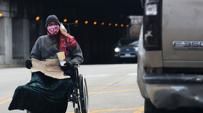 Chicago's Homeless Add COVID-19 To Their Winter Worries