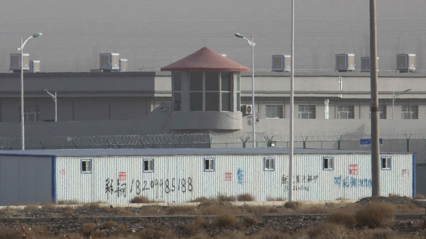 Report: Satellite Images Reveal Suspected Detention Sites In China's Xinjiang Region