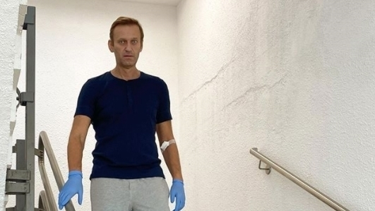 Alexei Navalny's Accounts Reportedly Frozen While In Berlin Hospital After Poisoning