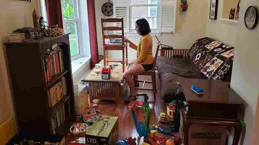 When A Tornado Hits A Toy Store: Photo Shows Reality Of Working From Home With Kids