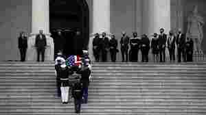 Justice Ginsburg Lies In State At U.S. Capitol
