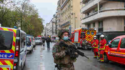 Paris Police Suspect Terrorism In Attack Near Former 'Charlie Hebdo' Offices