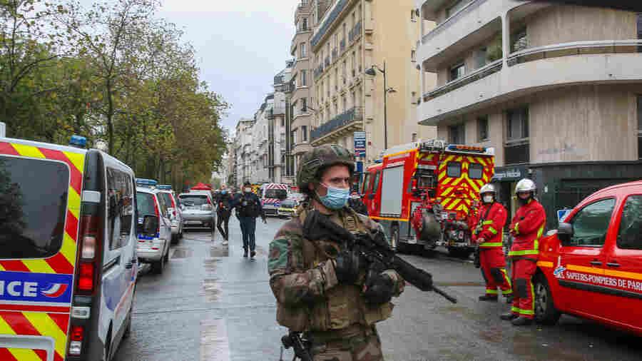 Paris Police Suspect Terrorism In Attack Near Former 'Charlie Hebdo' Offices