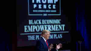 Trump Promises Black Voters A 'Platinum Plan' For Loans As He Bashes Biden