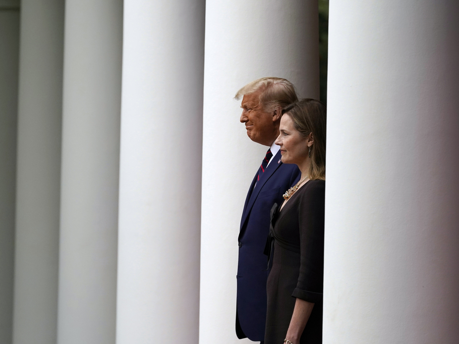 Judge Amy Coney Barrett, President Trump's nominee to the Supreme Court, could transform the court into the most conservative since the 1930s. (Alex Brandon/AP)