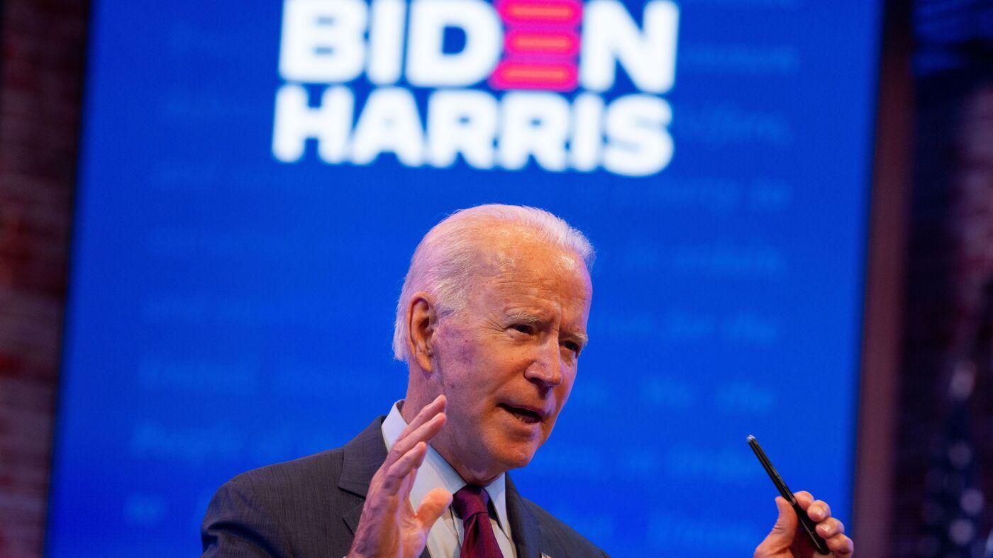 Biden Calls On GOP Senators To Hold Off On Barrett Confirmation