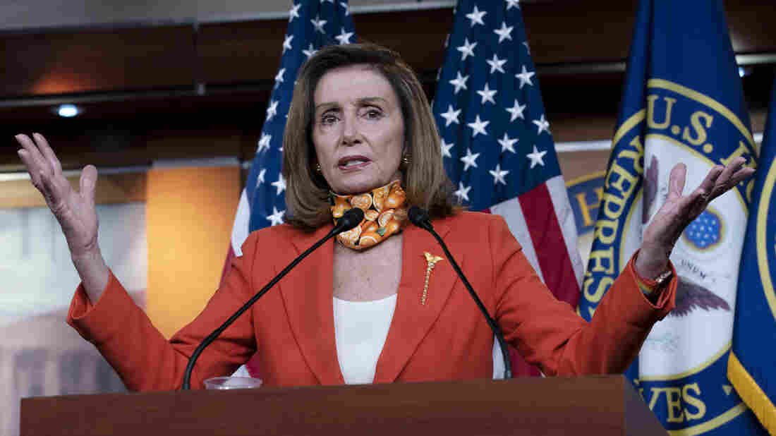 Pelosi, Mnuchin continue COVID-19 relief talks