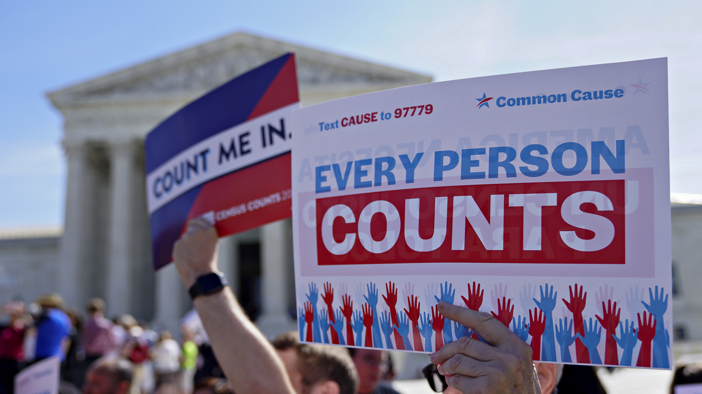 Supreme Court To Hear Case On Memo About Census Unauthorized Immigrants – NPR