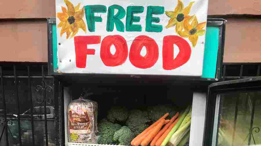Freedge Movement: Grassroots Efforts Fight Food Insecurity With Free Refrigerators