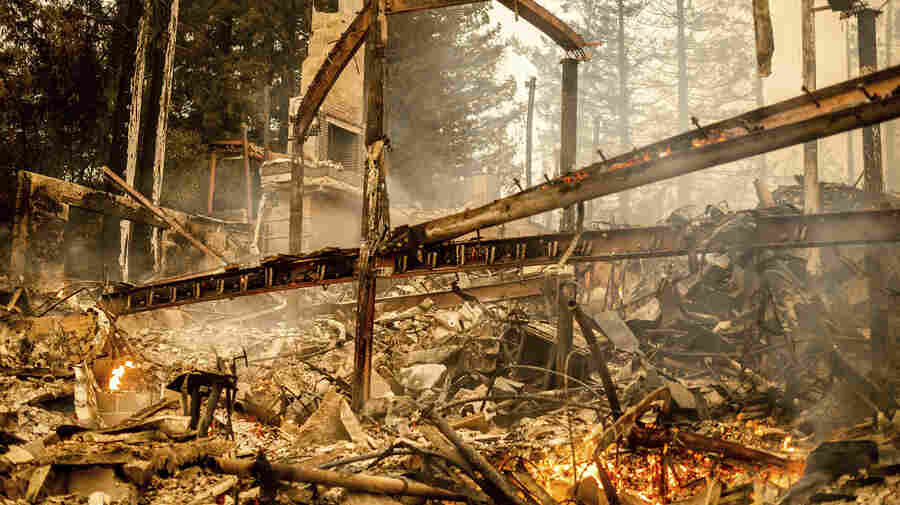 Glass Fire Rages Across Northern California, Burning Thousands Of Acres