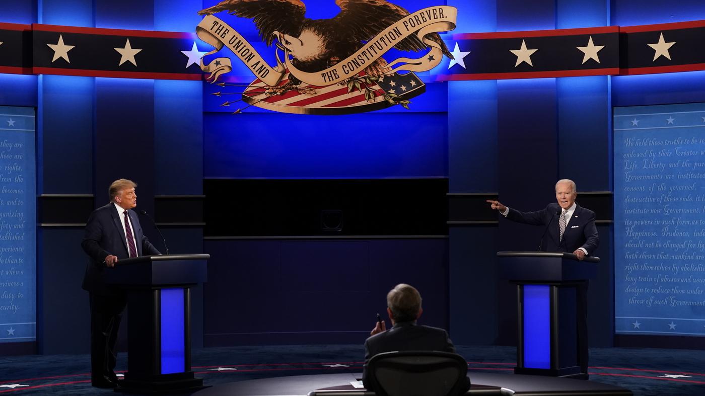 Debate Recap Trump Derails 1st Presidential Debate With Biden Npr