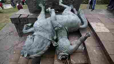U.S. Statue Removals Inspire Indigenous People In Latin America To Topple Monuments