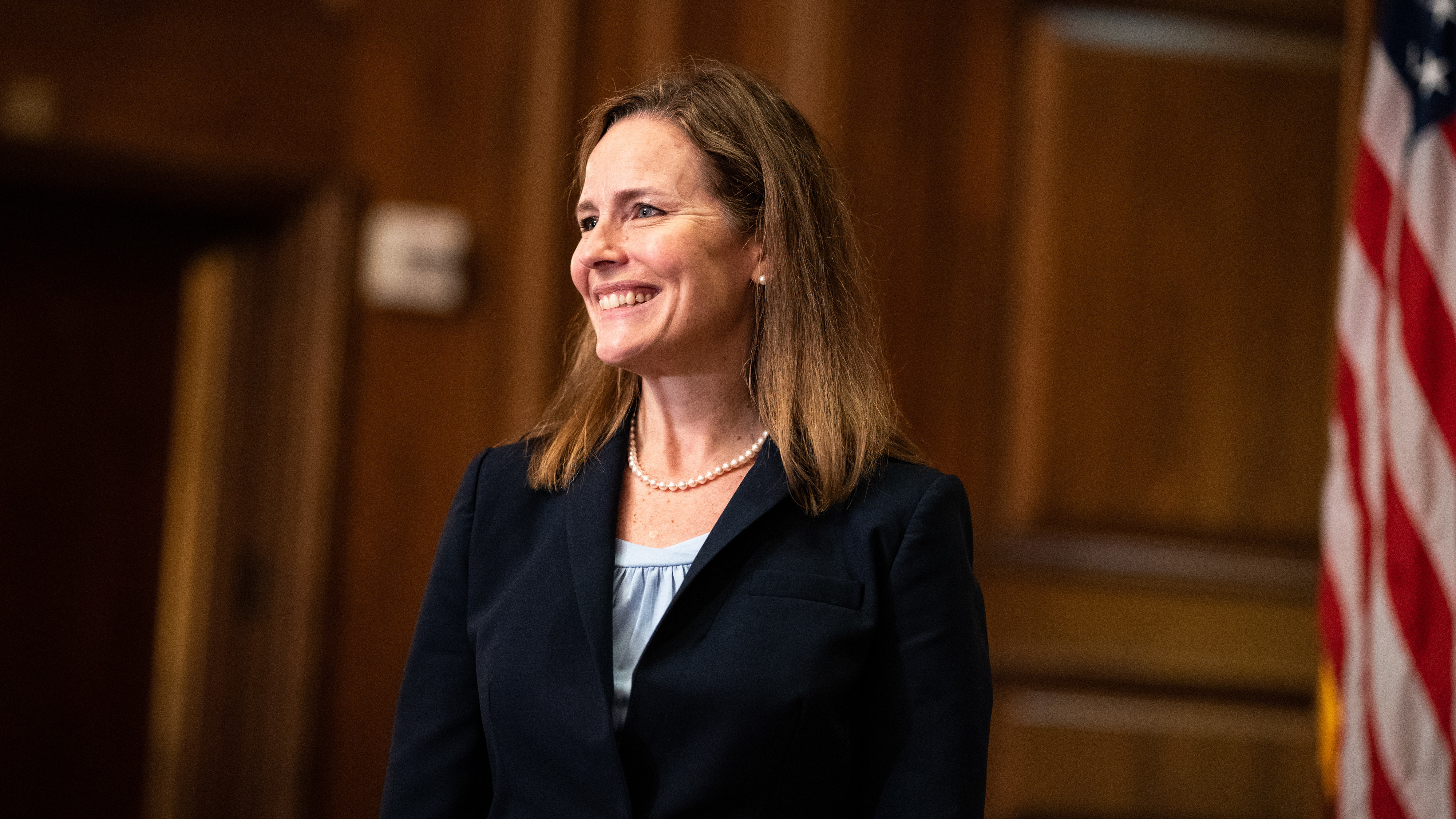 Judge Amy Coney Barrett, President Trump's nominee for the Supreme Court, is meeting with senators this week ahead of her confirmation hearing, which is set to start on Oct. 12.