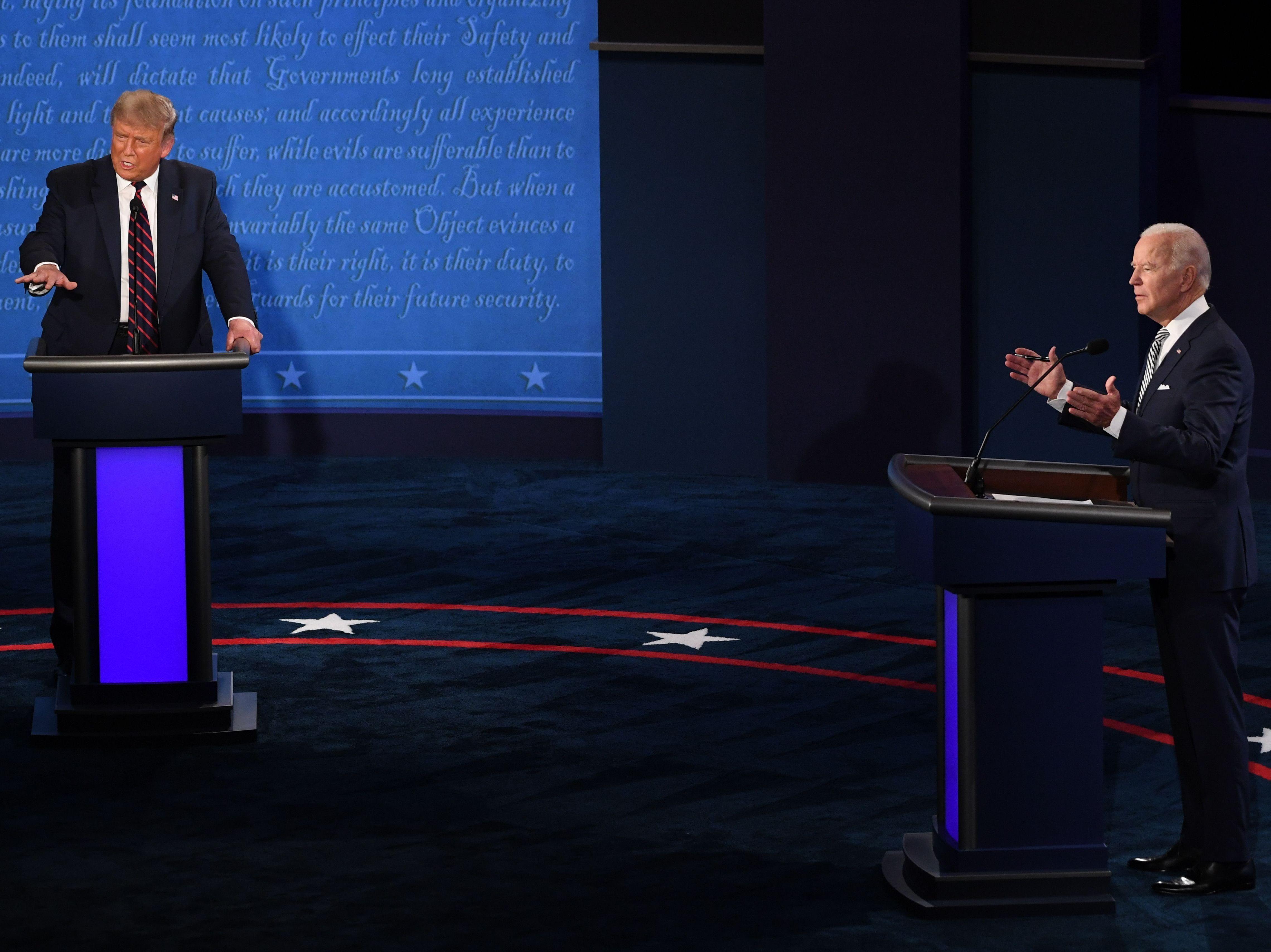 Presidential Debate Coverage Prompts Existential Question Npr Public Editor Npr