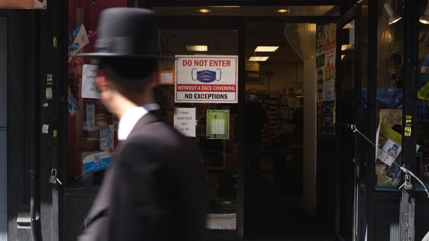 How New York's Orthodox Jewish Community Is Responding To Coronavirus Safety Measures