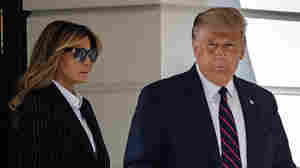 Trump Takes 'Precautionary' Treatment After He And First Lady Test Positive For Virus