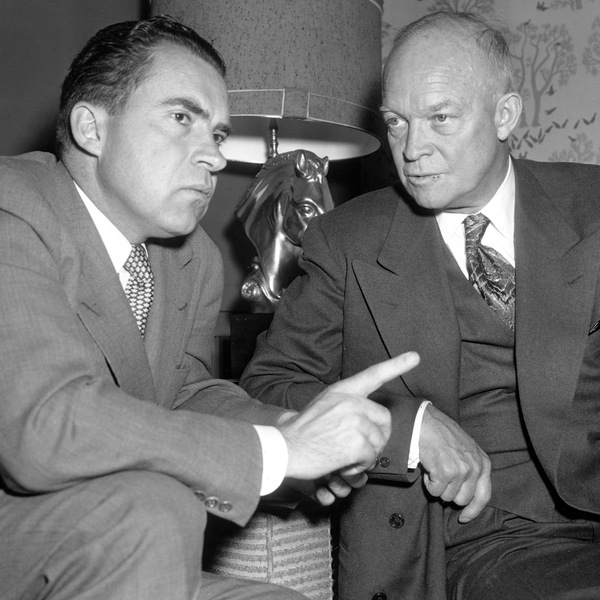 Dwight Eisenhower's medical problems during his presidency led to an agreement with his vice president, Richard Nixon, to transfer executive power in the event of presidential incapacity.