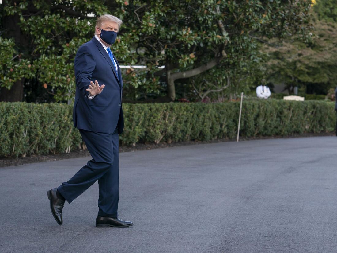 Presidente Trump Obtém o Coronavírus: NPR 2
