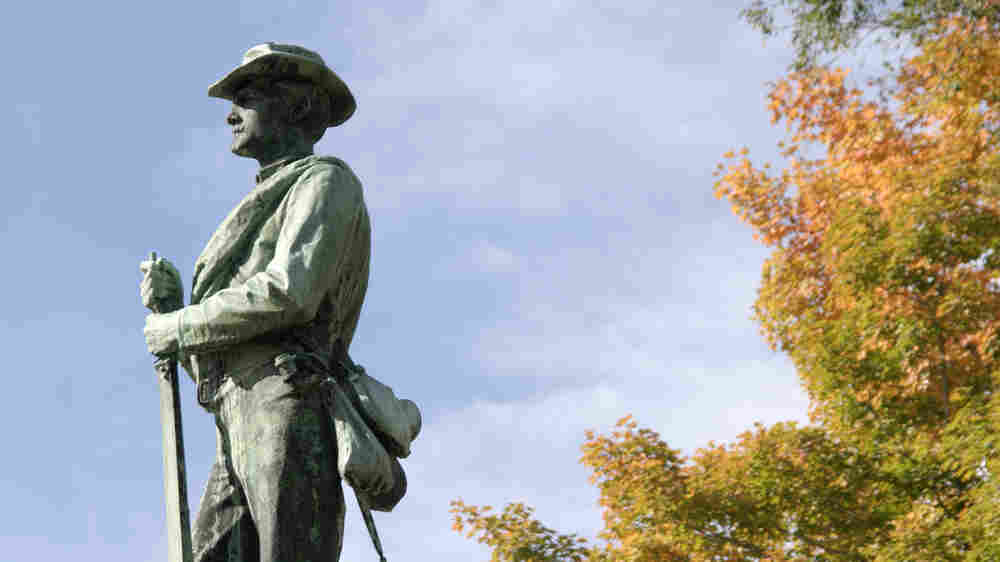 Confederate Statues Come Down Around U.S., But Not Everywhere