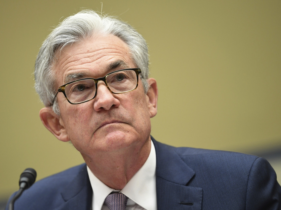 Federal Reserve Chairman Jerome Powell testifies last month during a House Select Subcommittee on the Coronavirus Crisis hearing. Powell continues to warn the U.S. economy needs more stimulus to recover from the pandemic. (Kevin Dietsch/AP)