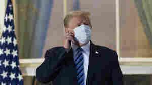 'Maybe I'm Immune': Trump Returns To White House, Removes Mask Despite Infection