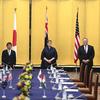Pompeo slams China at a meeting