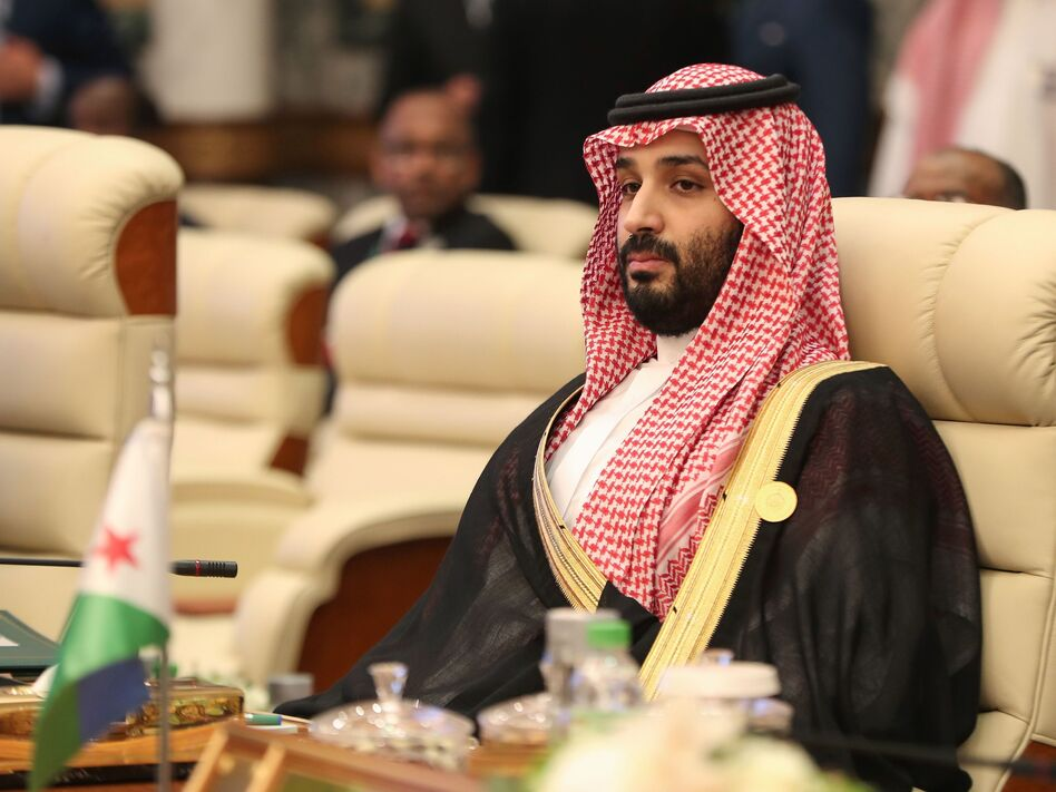 Saudi Crown Prince Mohammed bin Salman is accused of trying to track down and silence, in multiple ways, dissidents, even in other countries. (Bandar Aldandani/AFP via Getty Images)