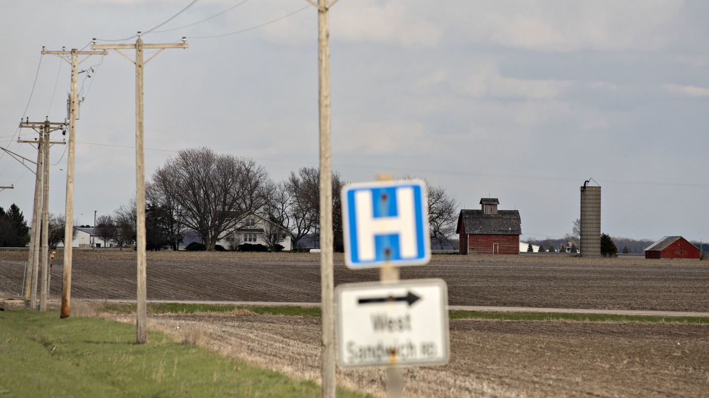 In Rural America, The Pandemic Pummeled The Health Care System : Shots