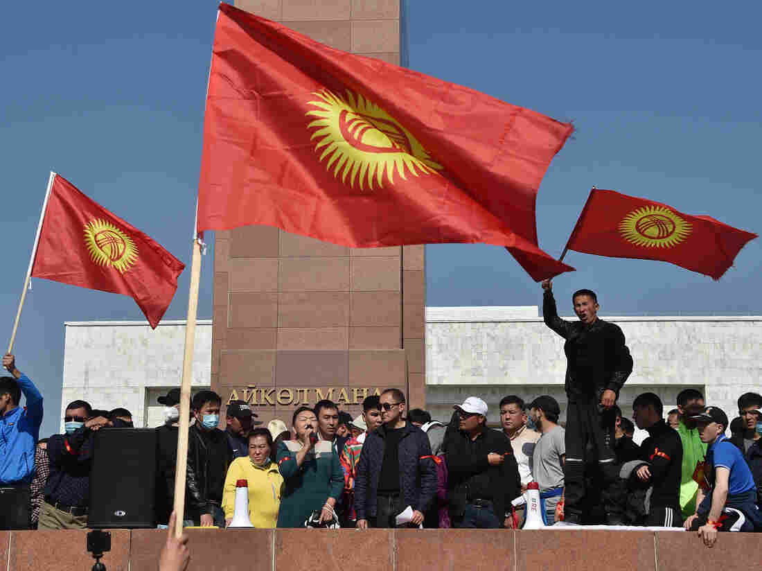 Post-election protests put Kyrgyzstan on brink of revolt