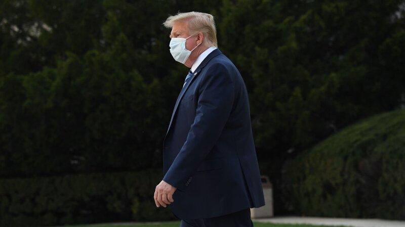 Trump Stops Coronavirus Relief Talks Until After Election Live Updates Trump Tests Positive For Coronavirus Npr