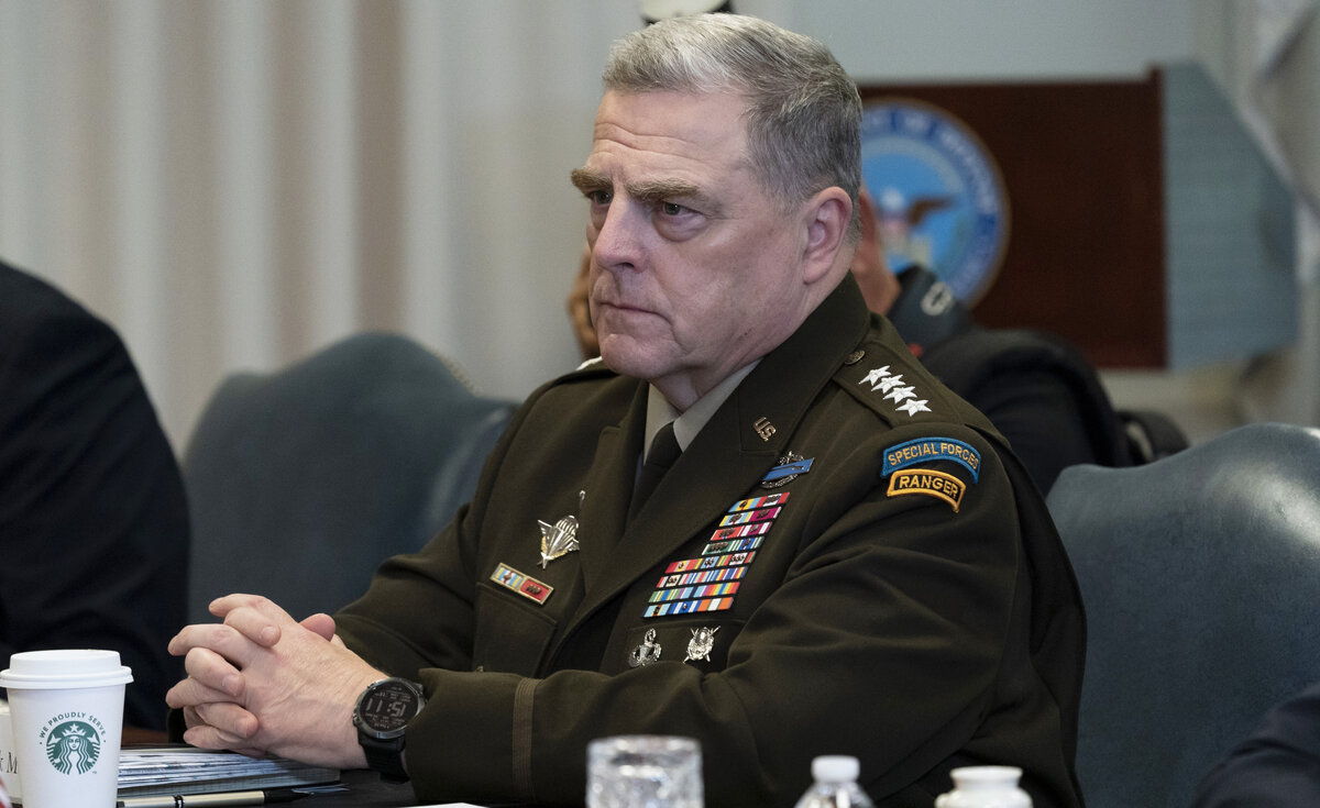 Gen. Mark Milley in quarantine