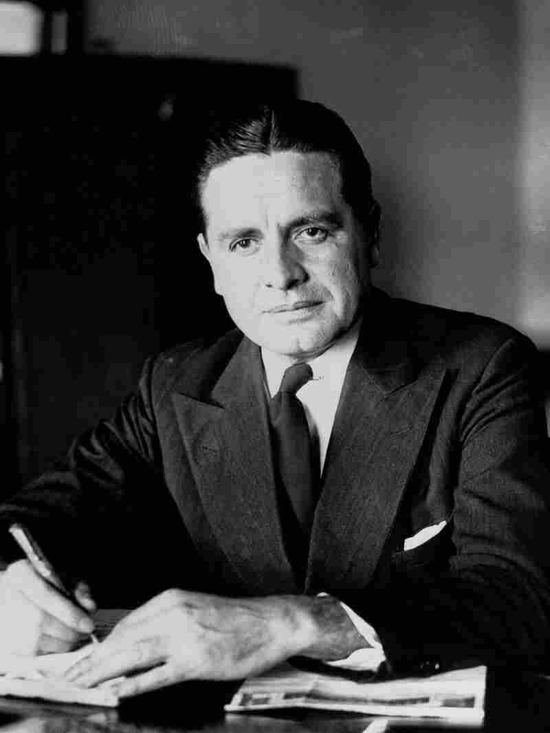 Harry J. Anslinger, commissioner of the Treasury Department's Federal Bureau of Narcotics, poses for a photo on September 24, 1930.