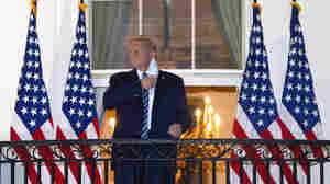 Trump Calls His COVID-19 Diagnosis A 'Blessing,' Touts Experimental Treatment