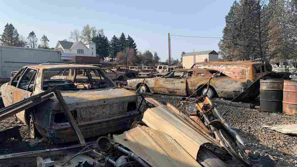 'Everything's Gone': Rural Washington Struggles After 'Blowtorch' Of A Wildfire