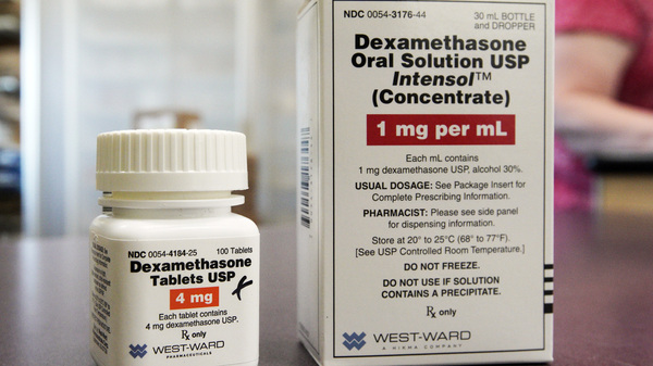 Dexamethasone is a low-cost, anti-inflammatory drug that has been shown to reduce the risk of death in patients with COVID-19.