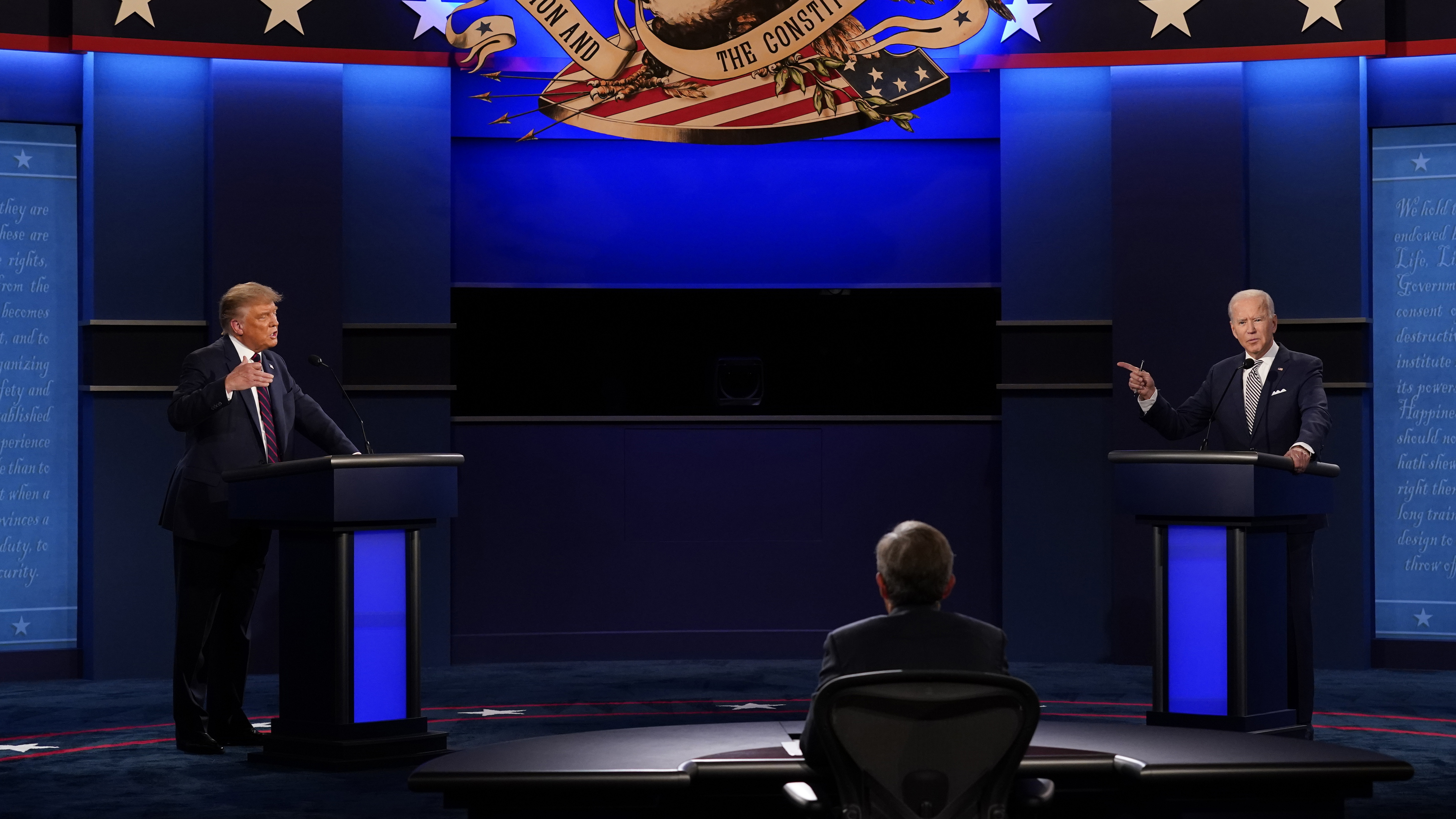 They won't be meeting face to face at the next debate.