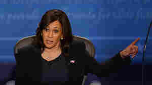 Trump Calls Harris A 'Monster,' Reviving A Pattern Of Attacking Women Of Color