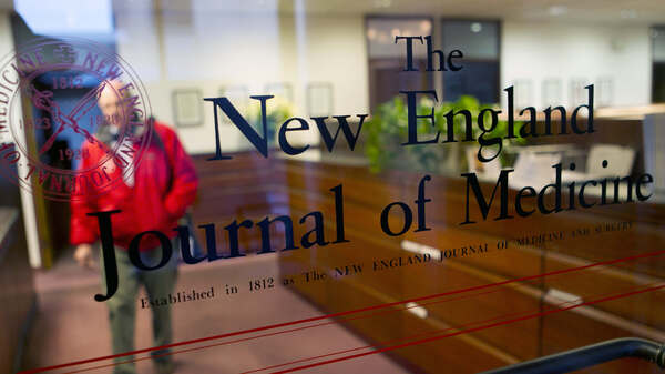 """""""Our leaders have largely claimed immunity for their actions. But this election gives us the power to render judgment,"""" reads a New England Journal of Medicine editorial signed by some three dozen editors."""