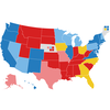 NPR Electoral Map: Biden Lead Widens Again With Less Than A Month To Go