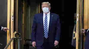 Trump To Speak At White House Saturday, 1st Public Event Since COVID-19 Diagnosis