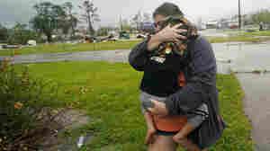 Hurricane Delta Weakens After Making Landfall On Southwest Louisiana Coast