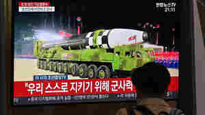 Kim Jong Un Puts New Missiles On Display At Military Parade In North Korea