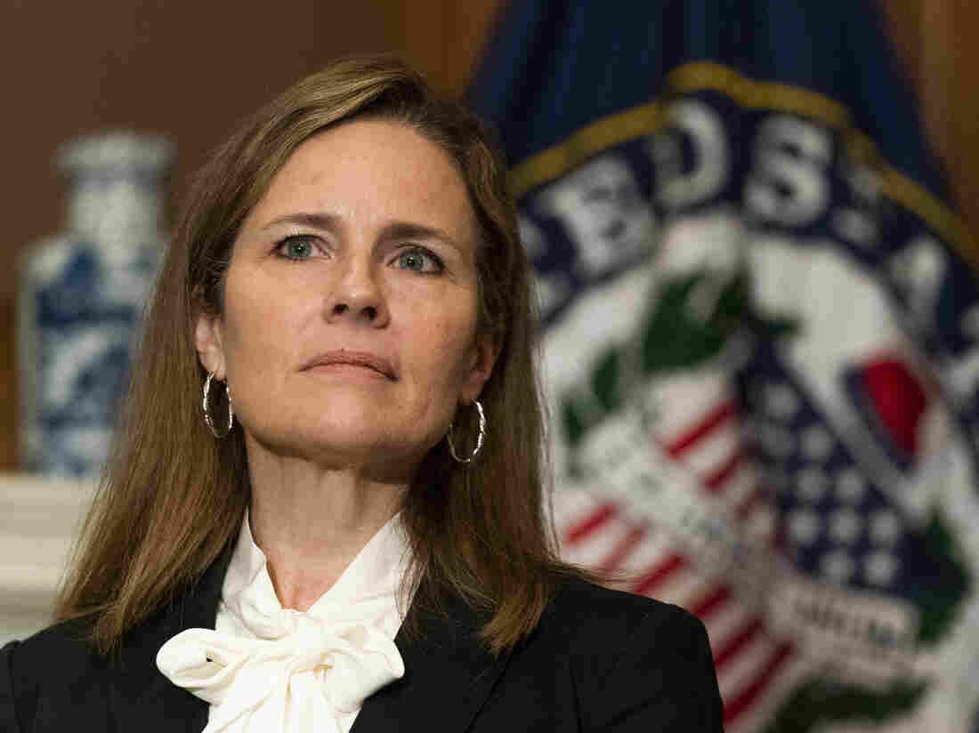 Supreme Court nominee Barrett faces Senate despite virus