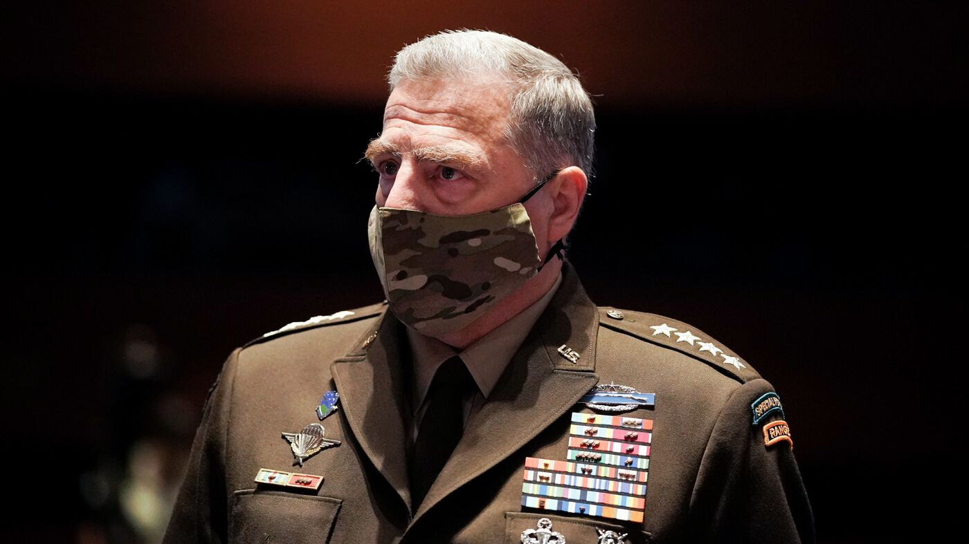 Gen. Mark Milley Says The Military Plays 'No Role' In ...