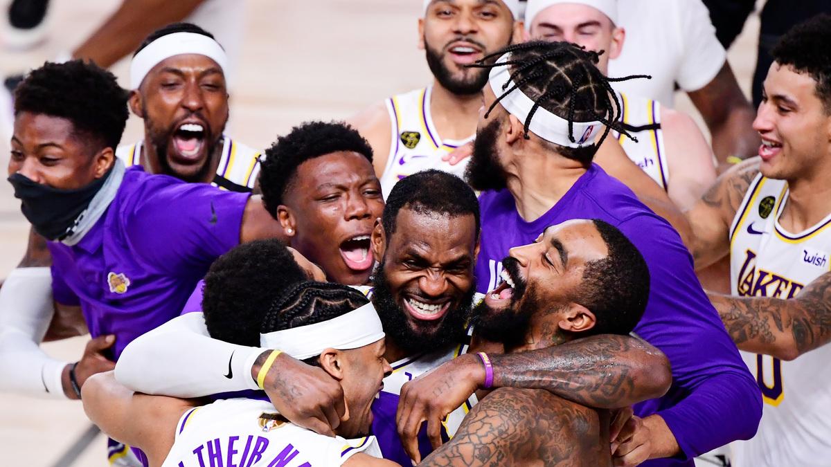 Lakers Win NBA Finals; No Coronavirus Cases Reported In Bubble : NPR