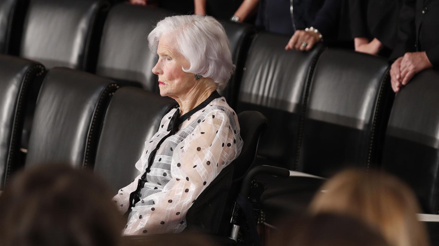 Roberta McCain Mother Of Sen. John McCain Dies At 108 – NPR