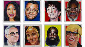 Artist In Residence Creates Portraits Of Reform At The District Attorney's Office